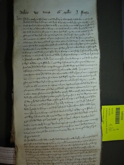 Picture from Anglo-American Legal Tradition, Documents from Medieval and Early Modern England from the National Archives in London, http://aalt.law.uh.edu/AALT.html
