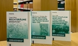 The series methodica – Einführungen in die rechtshistorische Forschung (methodica – Introductions to Research in Legal History) offers introductions to research in legal history focusing on sources and methods. The volumes, each of which covers a different topic, provide basic information in a standard format without claiming the completeness of a handbook and cover topics from the history of research and sources to methods, the craft of legal history and basic literature on the respective topic. The series is edited by members of the Max Planck Institute for European Legal History and is published by De Gruyter Oldenbourg.Print-ISSN 2509-792XOnline-ISSN 2509-7938
