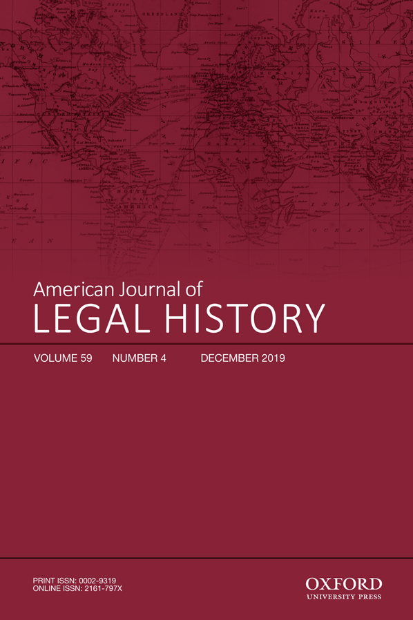 American Journal of Legal History (AJLH)