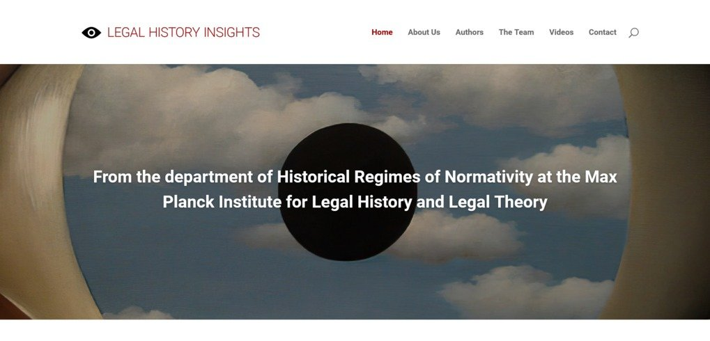 Doing legal history